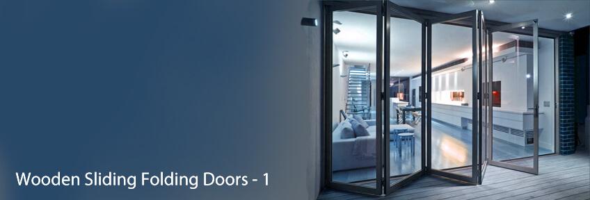 Wooden Sliding Folding Doors - 1 & BTL India - Simplifying Spaces