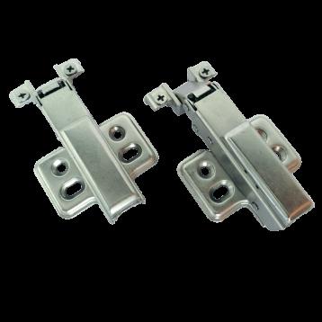 BTL Aluminium Frame Hinges: Hydraulic Slide-on Hinge - BAHH-AS0
