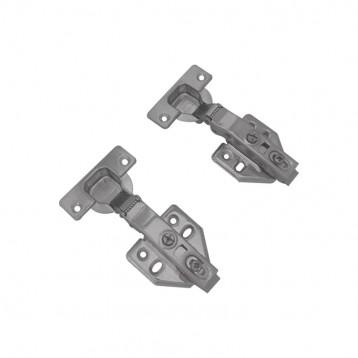 SS304 Auto Hydraulic Clip On One Way Hinge-Soft Close 0 Crank