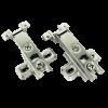 Aluminium Frame Hinges - Regular Slide on Hinge - 0 Crank