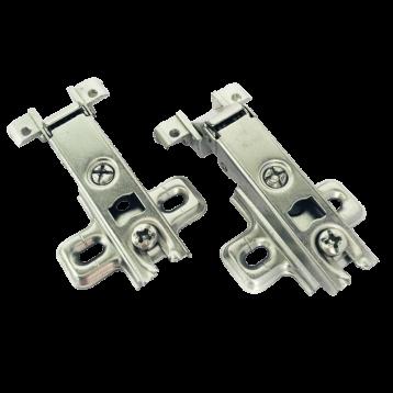 BTL Aluminium Frame Hinges: Regular Slide-on Hinge - BAHR-AS0