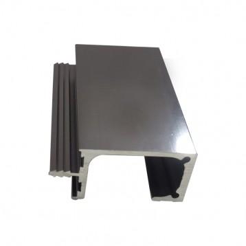 Aluminium Handle Profile - Deep Grey