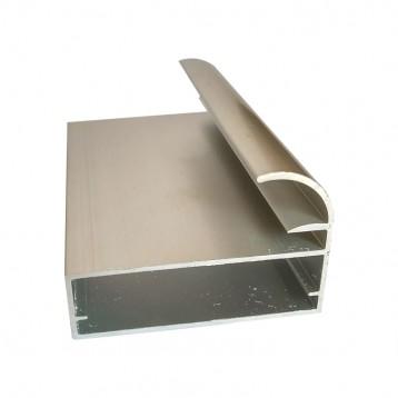 Aluminium Frame Profile Inbuilt Handle - BAP-27