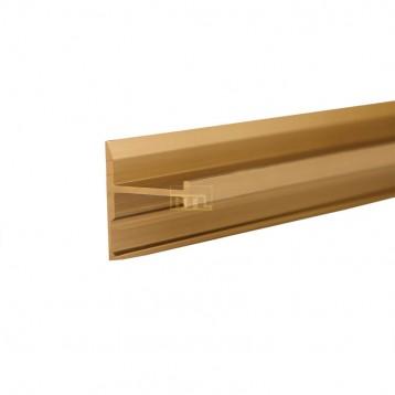 Aluminium Deco Profile-Brushed Gold-40.0