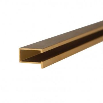 Aluminium Deco Profile-Brushed Gold-40.3