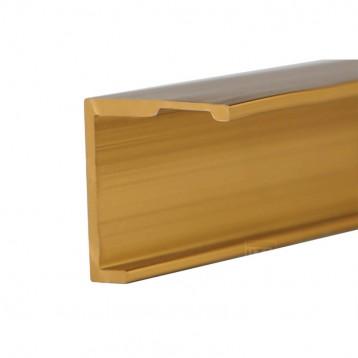 Aluminium Deco Profile-Brushed Gold-40.4