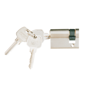 Eco Half Cylinder One Side Key-S30x10 mm-SS