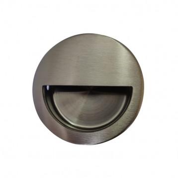 Door Concealed Handle Round - 50mm
