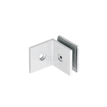 BTL BSC-S-4-SS Shower Connectors - Wall to Glass 90 Degree - SS