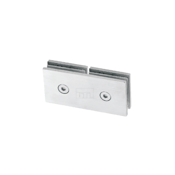 BTL BSC-S-5-SS Shower Connectors - Glass to Glass 180 Degree - SS