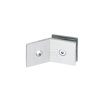 BTL BSC-S-7-SS Shower Connectors - Wall to Glass 135 Degree - SS