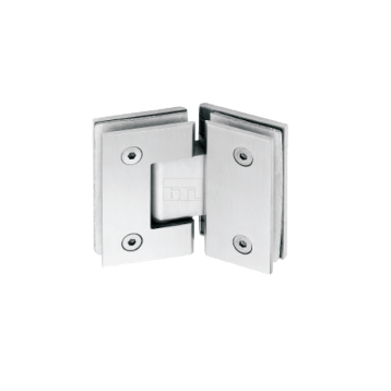 BTL BSH-S-3-SS Shower Hinges - Glass to Glass 135 Degree - SS