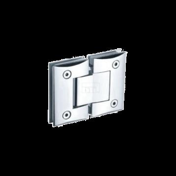 BTL BSH-Z-2-CP Shower Hinges - Glass to Glass 180 Degree - Zinc CP