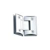 Shower Hinges - Glass to Glass 135 Degree - Zinc CP