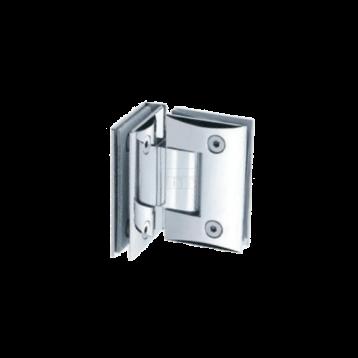 BTL BSH-Z-4-CP Shower Hinges - Glass to Glass 90 Degree - Zinc CP