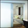 Glass Sliding Fitting - Soft Close - 100 Kg 1 Moving Door