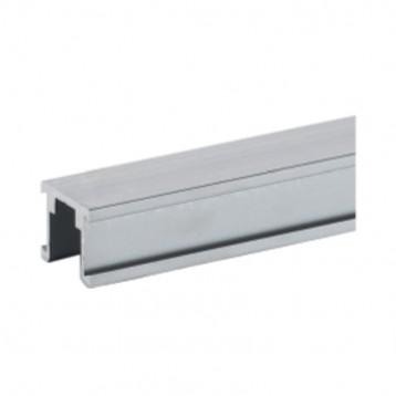 Aluminium Bottom Track for Fix Glass - 1 Mtr