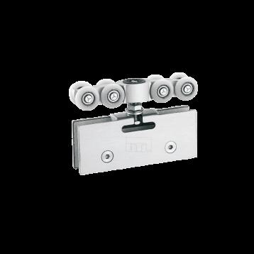 BTL BSLD-G4 Glass Door Sliding Fitting 8 Wheels - 120 Kg Adjustable