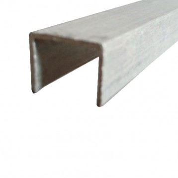 Aluminium Sliding Upper Track 3Mtr - 16mm