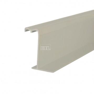 BTL Aluminium Sliding Upper and Bottom Track - BSLD-T21-TB-2Mtr