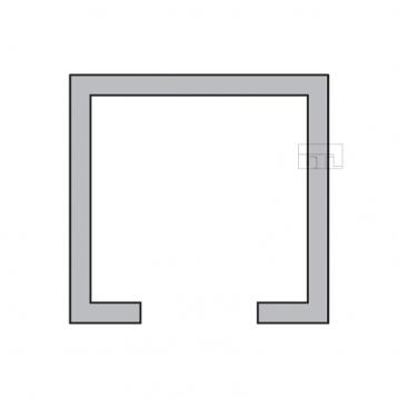BTL BSLD-T5 Aluminium Sliding Upper Track - Length 3660mm