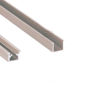 BTL Aluminium Upper and Lower Track with Silver Finish - BSLD-T8