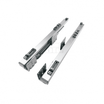 Tandem Runner Wire Basket Slide with Cover - 450mm