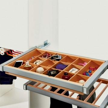 Wardrobe Jewellery Wooden Box 600mm