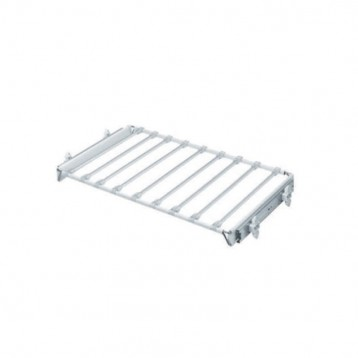 Wardrobe Trouser Rack with Telescopic Channel 600mm