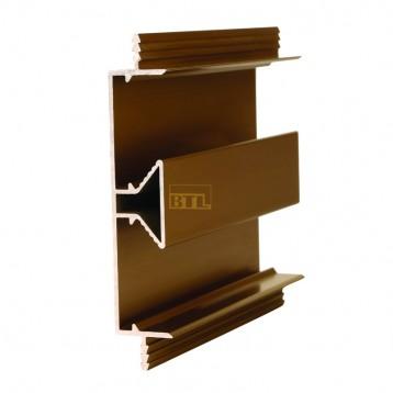 Wardrobe Handle Profile - 3 Meter - Matt Black - 2-MBK