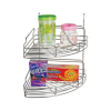 DESIGNER DOUBLE CORNER RACK
