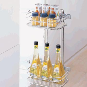 BTL Designer Detergent Pull Basket With Slide - WDA-DPB-SC