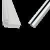 Aluminium Sliding Upper and Bottom Track for BSLD-118SC BSLD-119SC and BSLD-120SC - 2 Mtr