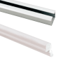 Aluminium Sliding Upper and Bottom Track for BSLD-118SC BSLD-119SC and BSLD-120SC - 2000mm