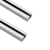 Aluminium Sliding Upper and Bottom Track for BSLD-18SC - 2 Mtr