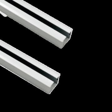 Aluminium Sliding Upper and Bottom Track for BSLD-18SC - 2 Mtr