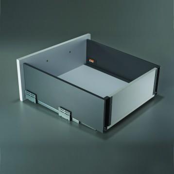 Slim Tandem Box - 203mm - 400x35kg - Charcoal Grey