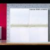 Wardrobe Inline Sliding Fitting - Cabinet Width 2100mm