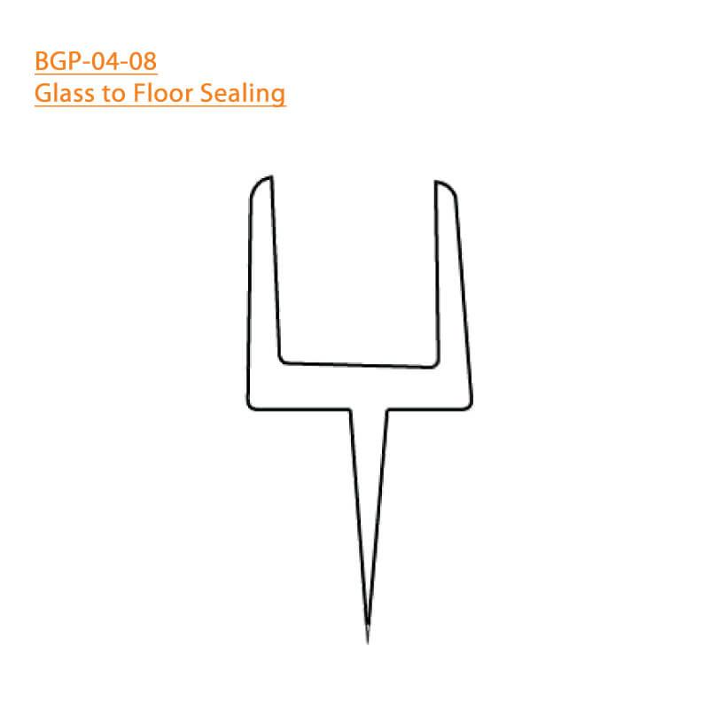 BTL BGP-04-08 Glass to Floor Sealing 04 - 8 MM