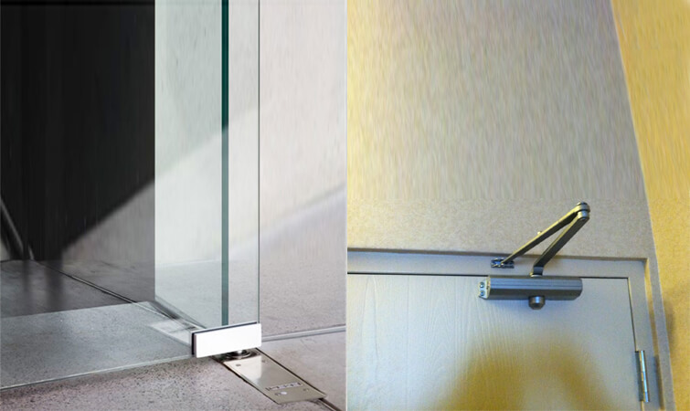 Floor Hinge, Door Closer