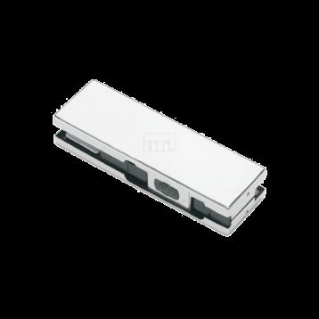 BTL Pure Aluminium 8.5mm Bottom Patch Glass Fittings