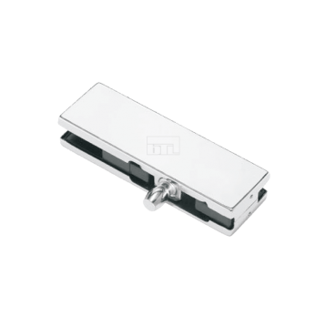 BTL Pure Aluminium 8.5mm Over Panel Patch Fitting With Pivot
