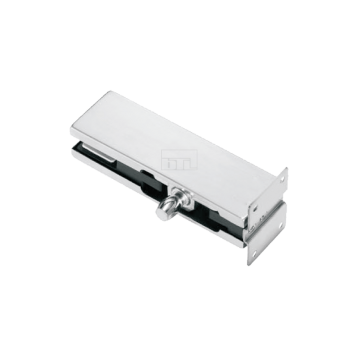 BTL Pure Aluminium 8.5mm thick Over Panel Pivot Patch With Plate