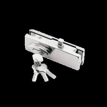BTL Pure Aluminium 7.5 mm thick - Bottom Patch lock For Glass Door